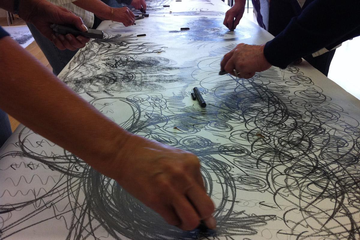 Dillington House Art Class