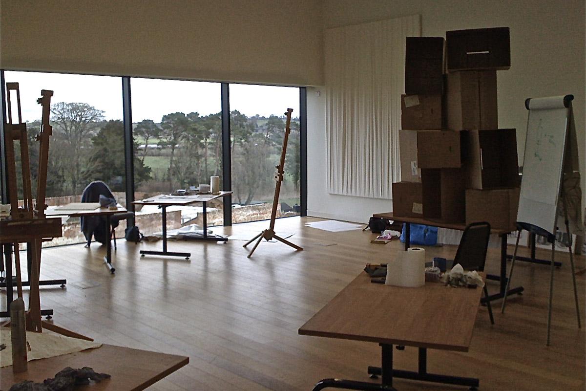 Dillington House Studio Interior
