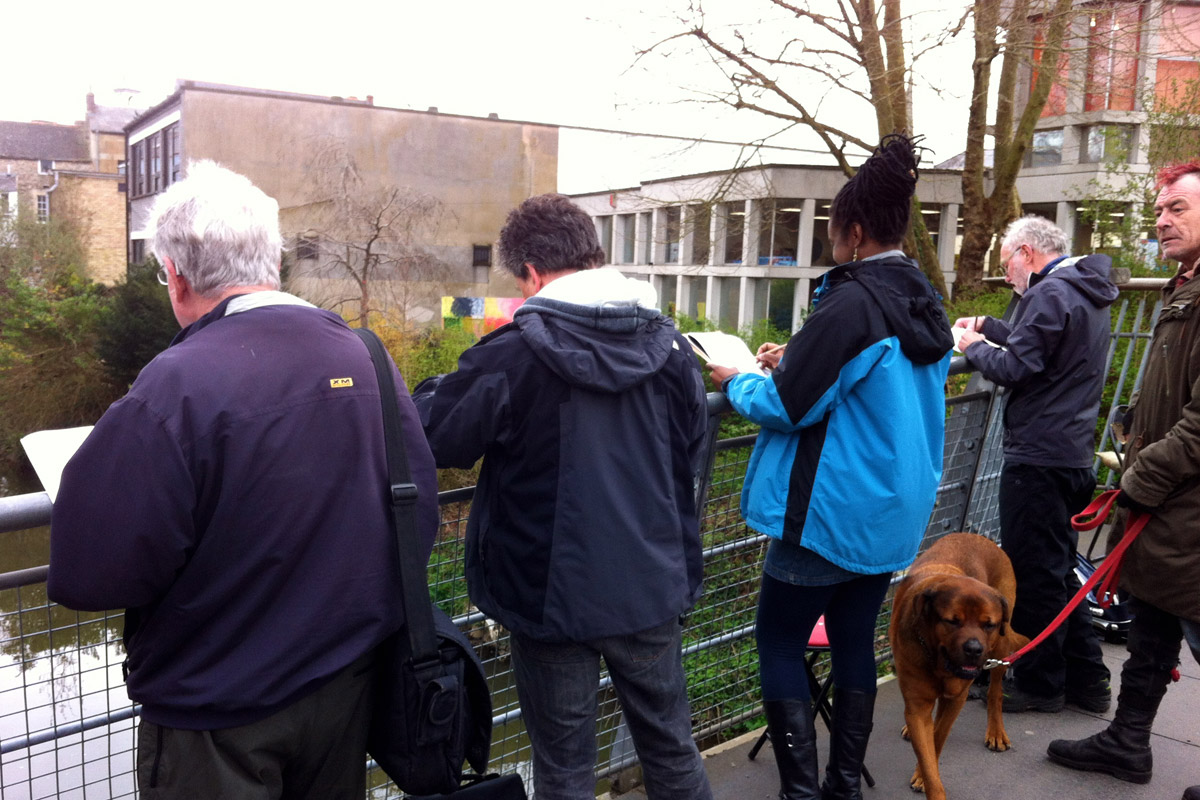 Frome Sketchers – Library Bridge