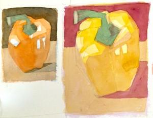 orange&yellowpepper
